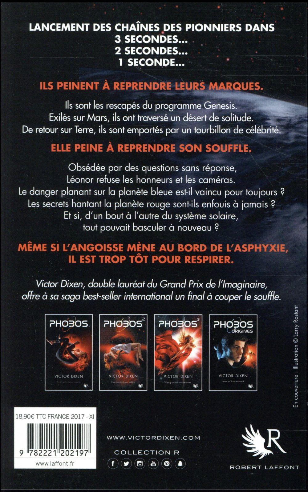 Phobos T.4 ; il est trop tôt pour respirer