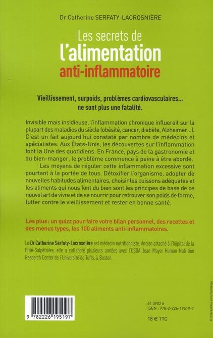 Les secrets de l'alimentation anti-inflammatoire