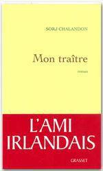Vente Livre Numérique : Mon traître  - Sorj Chalandon
