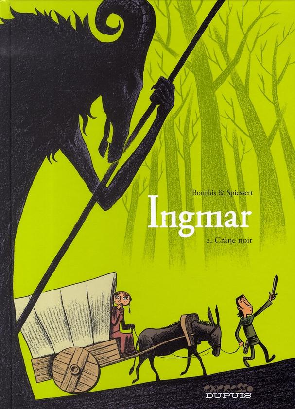 Ingmar t.2 ; crâne noir