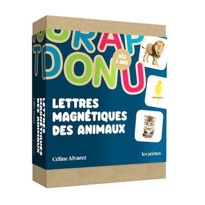 coffret lettres magnétiques animaux