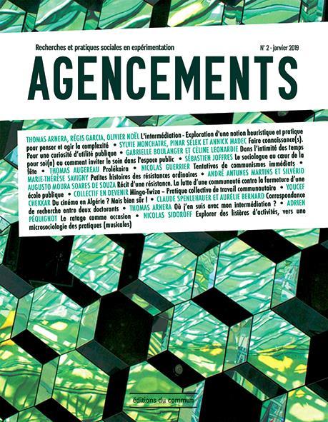 Agencements ; recherches et pratiques sociales en experimentation n.2