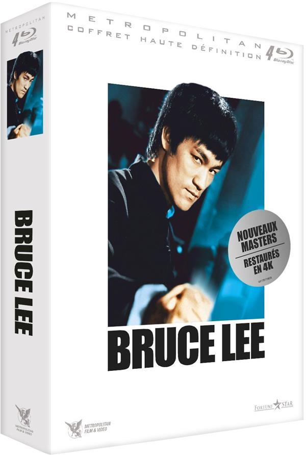 Bruce Lee : Big Boss + La fureur de vaincre + La fureur du Dragon + Le jeu de la mort