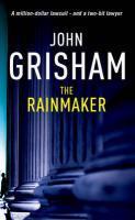 Vente Livre Numérique : The Rainmaker  - John Grisham