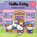 Couverture de Hello kitty ; j'adore l'école !