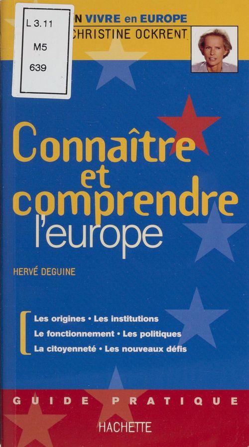 Connaitre et comprendre l'europe