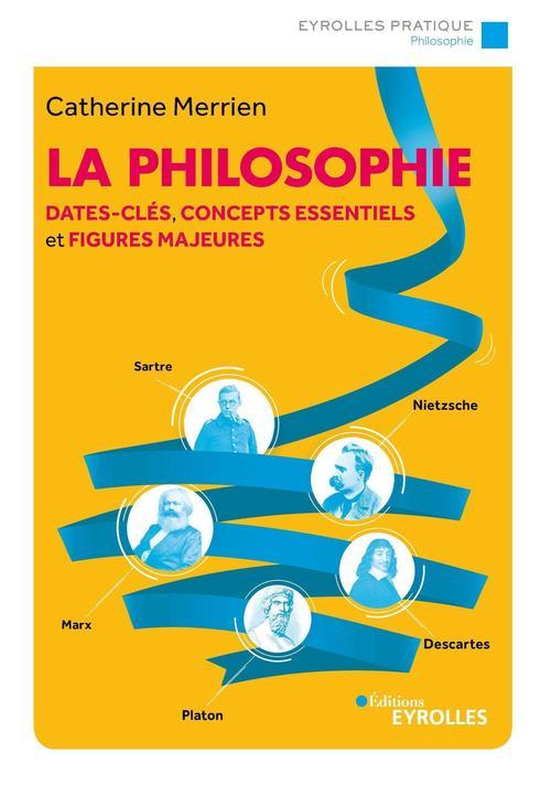 La philosophie ; dates-clés, concepts essentiels et figures majeures