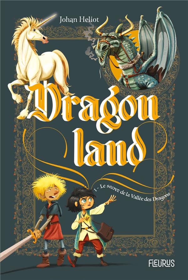 Dragonland T.1 ; le secret de la vallée des dragons
