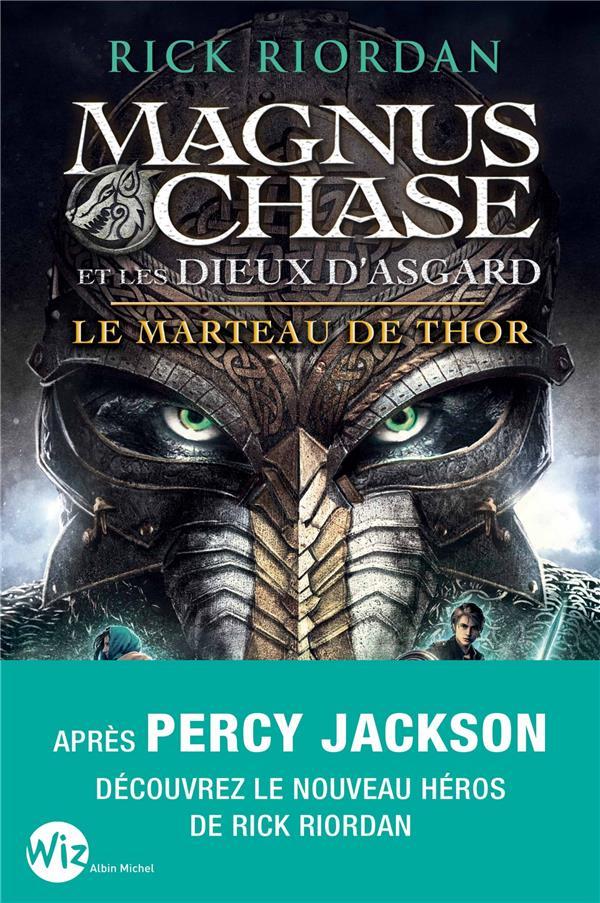 MAGNUS CHASE ET LES DIEUX D'ASGARD T.2  -  LE MARTEAU DE THOR RIORDAN-R