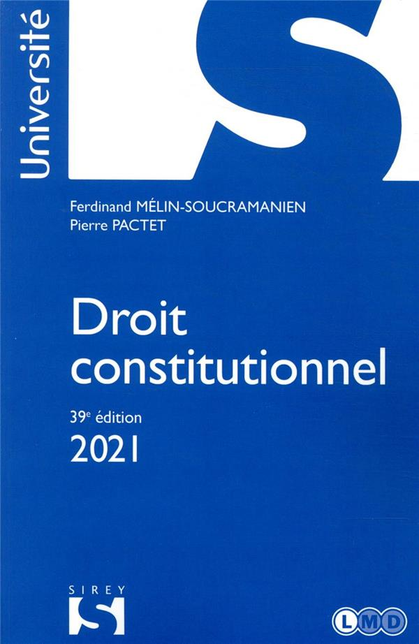 Droit constitutionnel (édition 2021)
