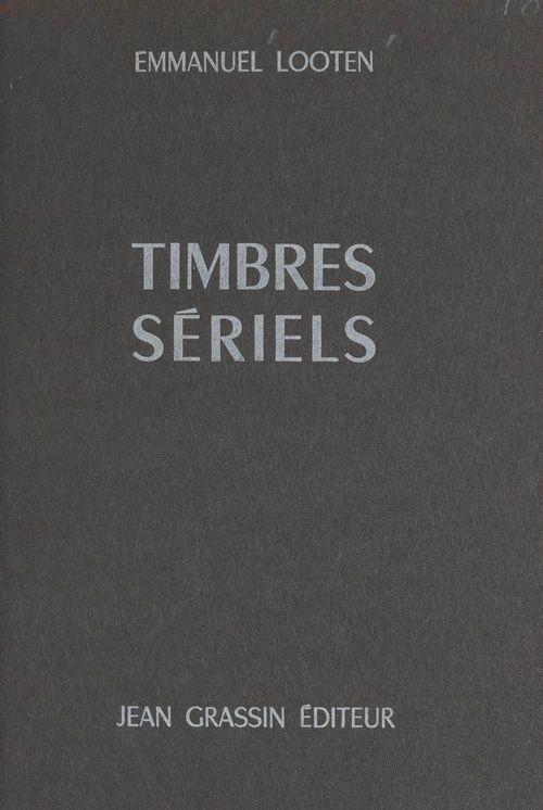 Timbres sériels