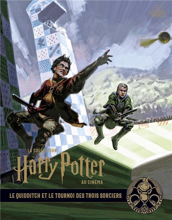 La collection Harry Potter au cinéma T.7 ; le quidditch et le tournoi des trois sorciers
