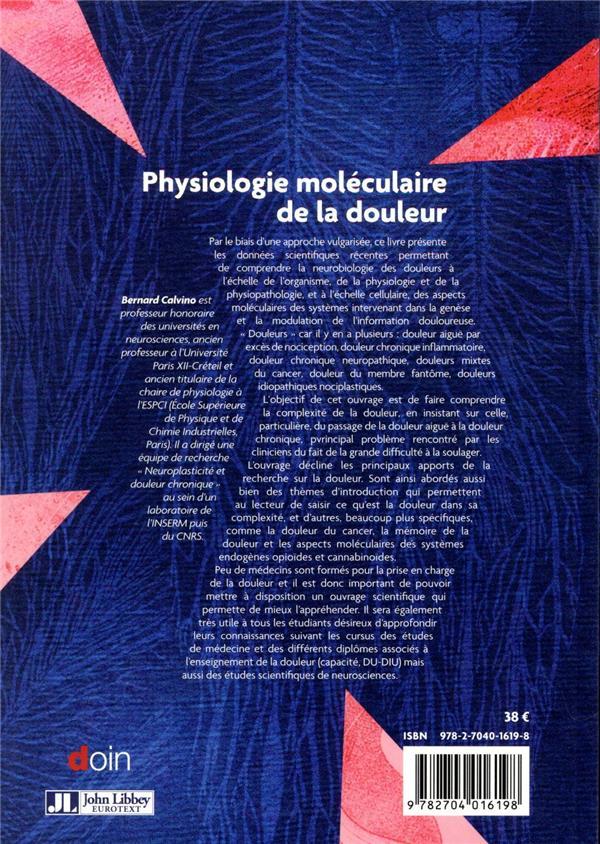 Physiologie moléculaire de la douleur