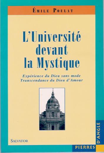 Universite devant la mystique