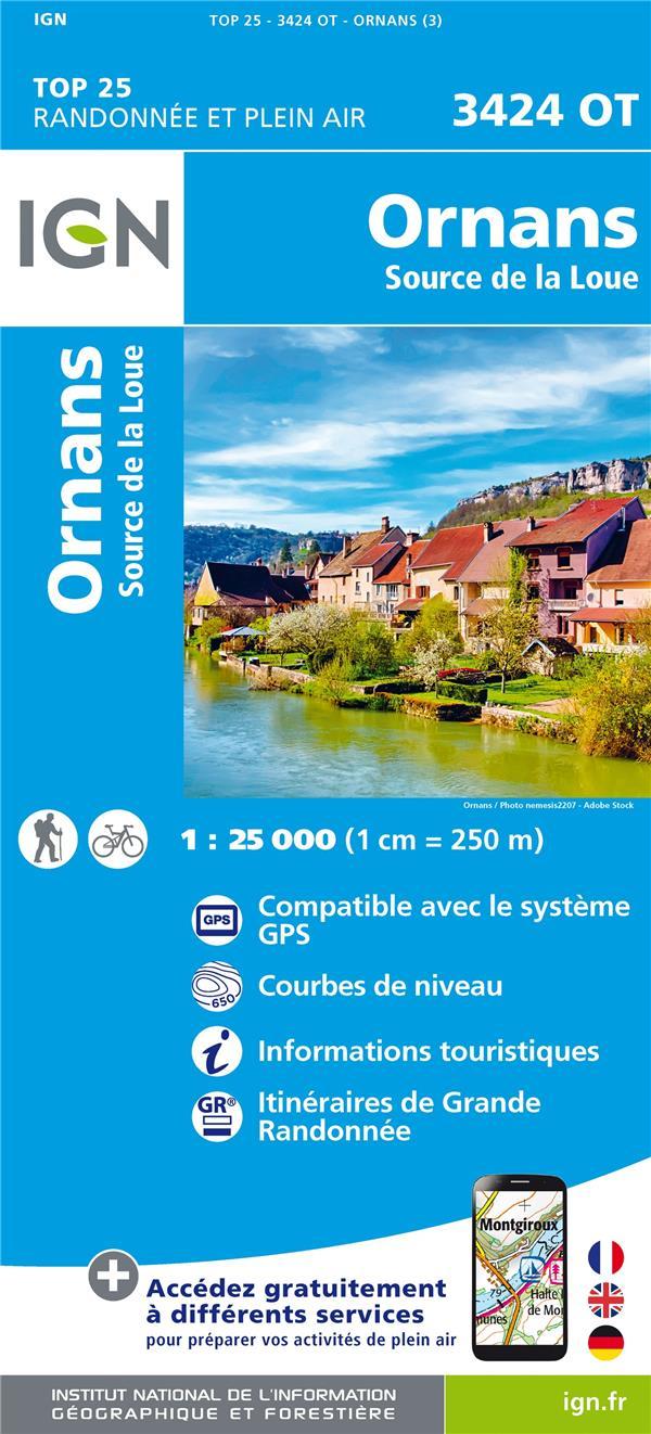 3424OT ; Ornans-Source de la Loue (3e édition)