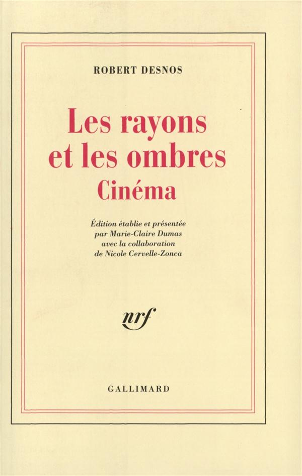 Les rayons et les ombres - cinema