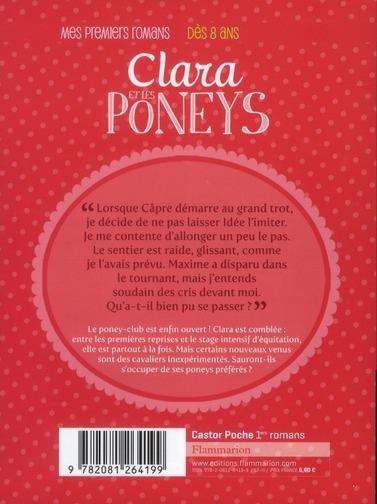 Clara et les poneys t.6 ; du nouveau au poney-club !