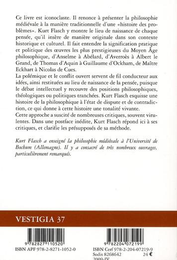 Introduction à la philosophie médiévale (2e édition)