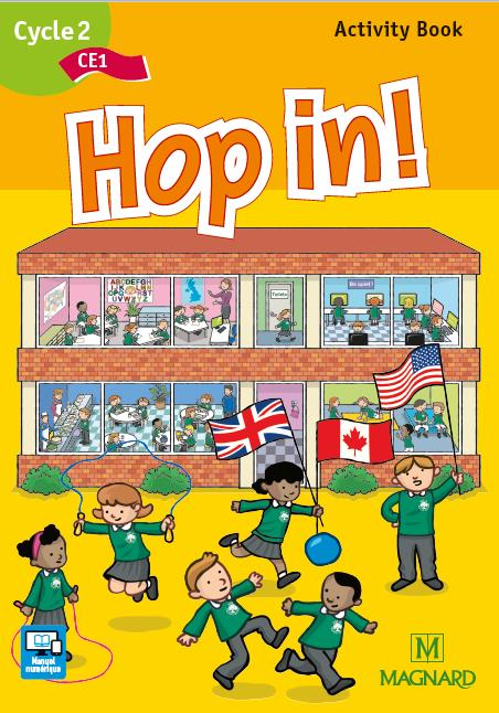 Hop In !; Anglais ; Ce1 ; Activity Book