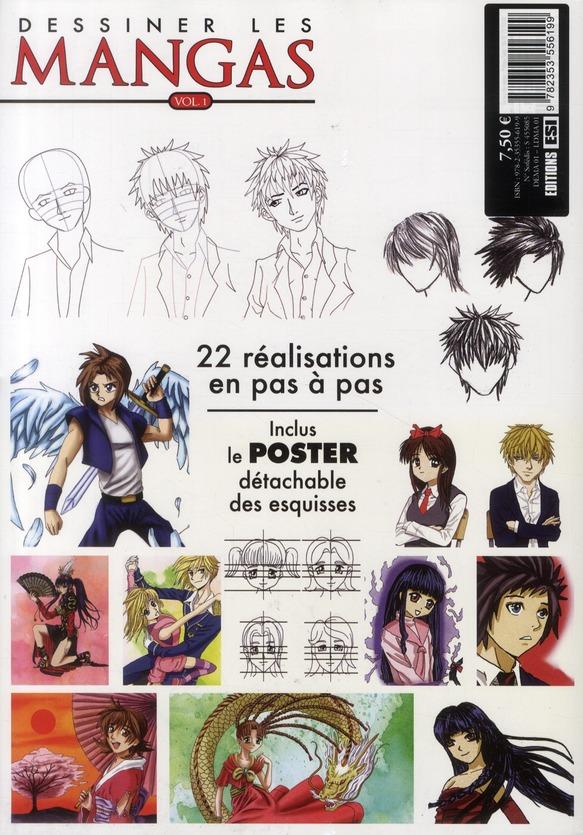 Dessiner les mangas t.1 ; spécial personnages et expressions