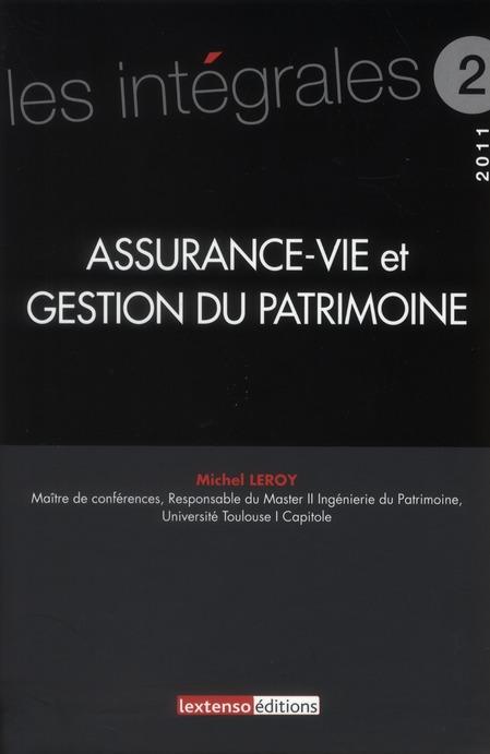 Assurance-Vie Et Gestion Du Patrimoine