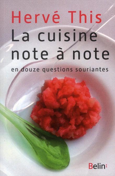 La Cuisine Note A Note