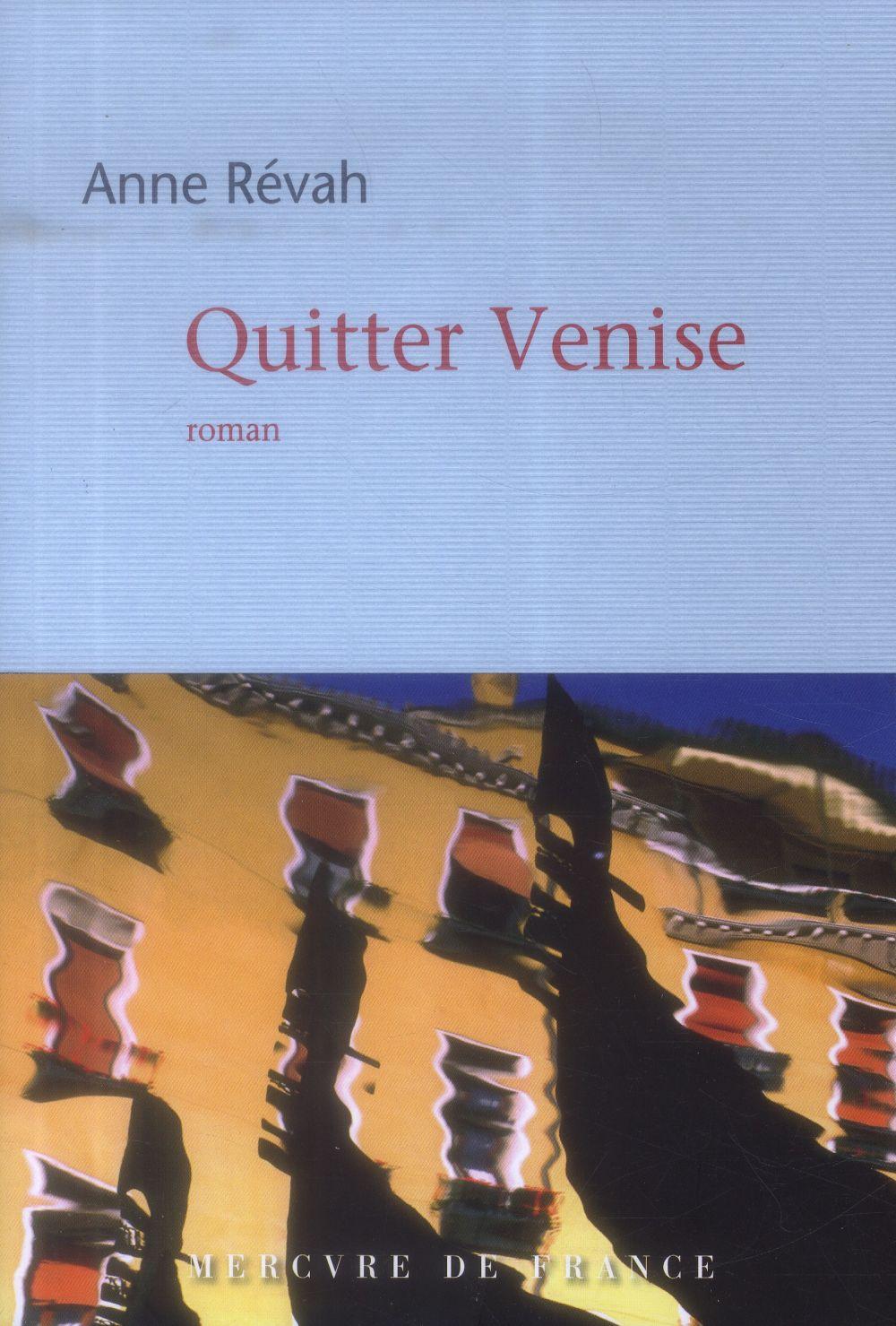 Quitter Venise