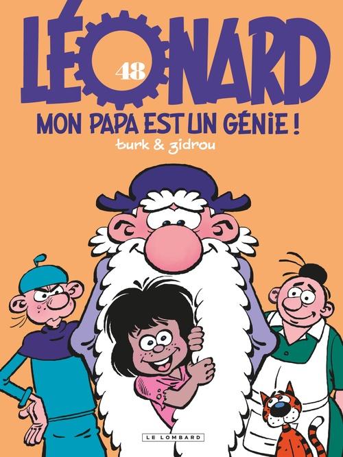 Léonard - Tome 48 - Mon papa est un génie  - Zidrou  - Turk