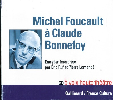 Michel foucault a claude bonnefoy