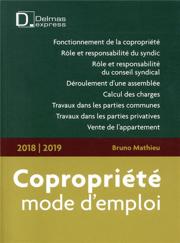 Copropriété, mode d'emploi (édition 2018/2019)