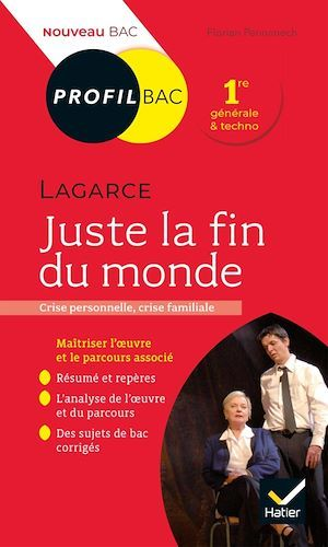 Profil - Lagarce, Juste la fin du monde  - Florian Pennanech
