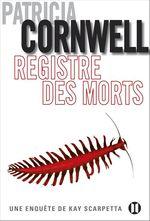 Vente Livre Numérique : Registre des morts  - Patricia Cornwell