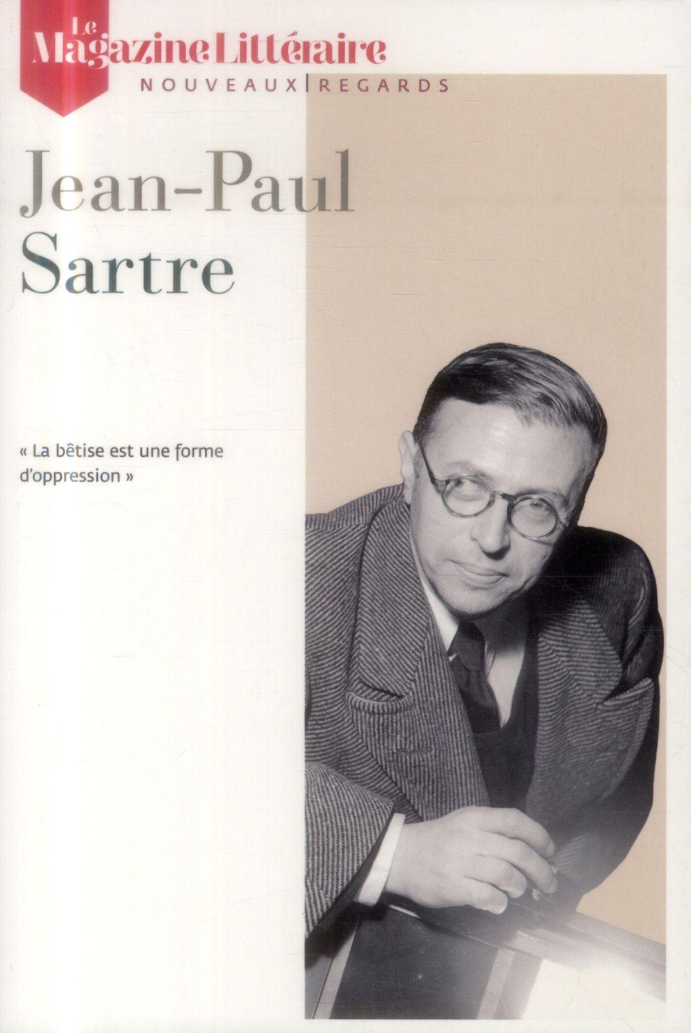 Le magazine litteraire; jean-paul sartre