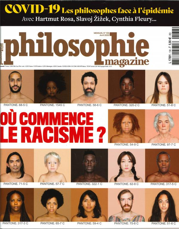 Philosophie Magazine N 138 - Avril 2020