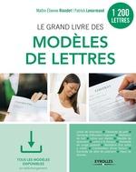 Vente Livre Numérique : Le grand livre des modèles de lettres  - Patrick Lenormand - Étienne Riondet