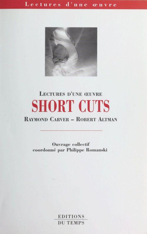 Capes et agregation d'anglais, lecture d'une oeuvre : short cuts, selected stories de raymond carver