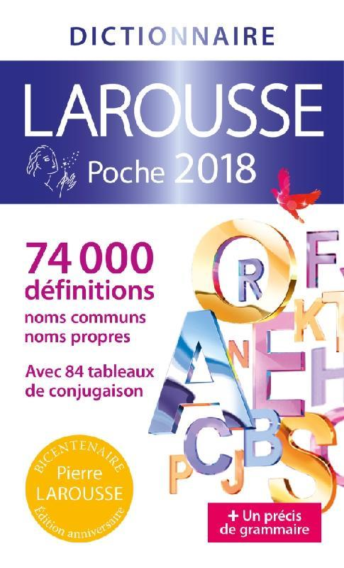 Larousse de poche (édition 2018)