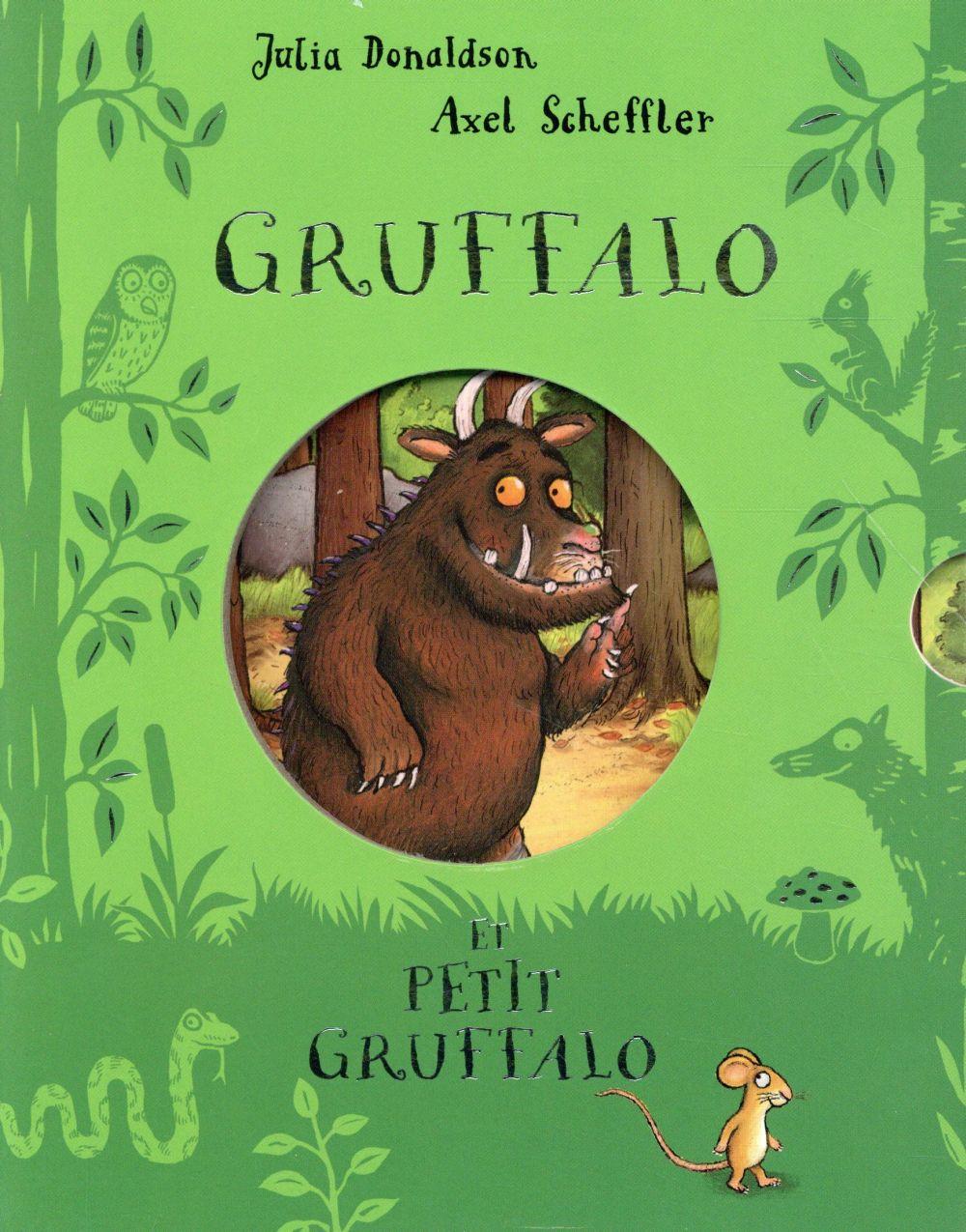 Gruffalo et petit Gruffalo : coffret