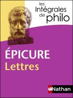 Vente Livre Numérique : Intégrales de Philo - EPICURE, Lettres  - Marcel Conche - Jean Salem - Octave Hamelin - Épicure