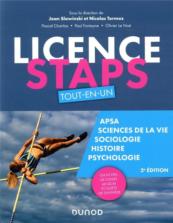 Licence STAPS ; tout-en-un (2e édition)