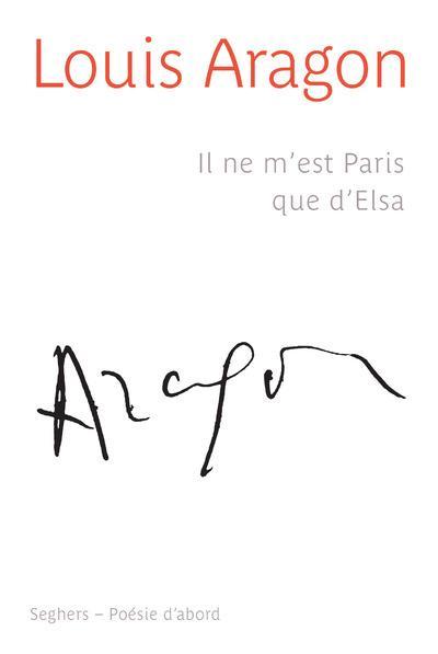 Il ne m'est Paris que d'Elsa