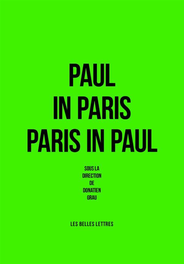 Paul in Paris  / Paris in Paul