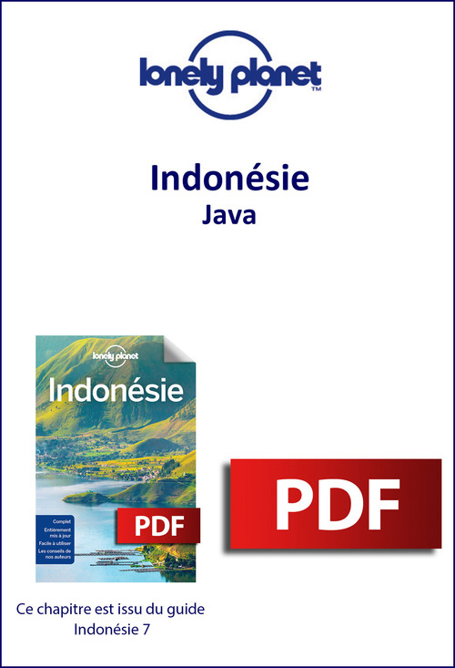 Indonésie - Java  - Lonely Planet Eng