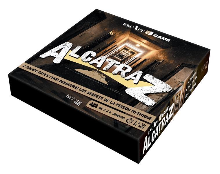 Escape game ; Alcatraz ; 2 escape games pour découvrir les secrets de la prison mythique
