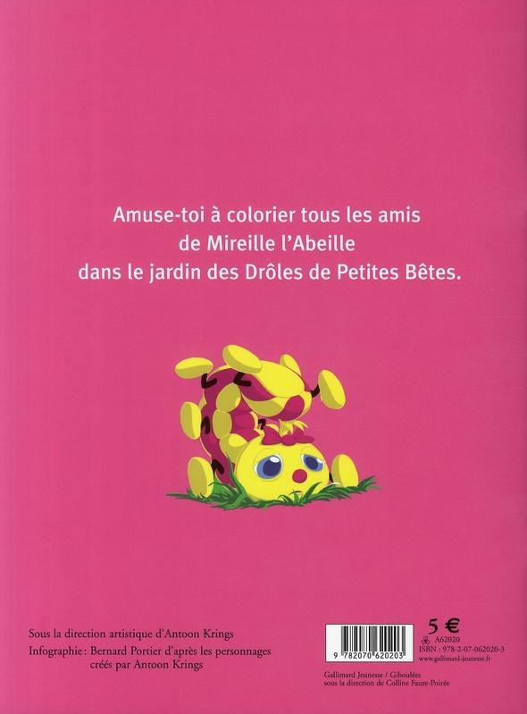 Coloriage Mireille Labeille.Les Coloriages De Mireille L Abeille Antoon Krings Gallimard Jeunesse Papeterie Coloriage Sauramps