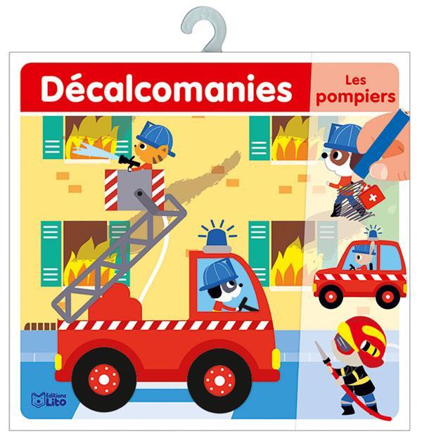 décalcomanies ; les pompiers