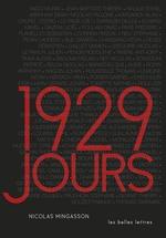 Vente Livre Numérique : 1929 jours  - Nicolas Mingasson