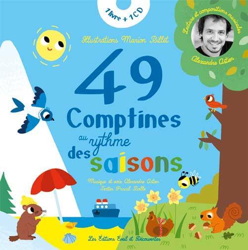 49 comptines au rythme des saisons