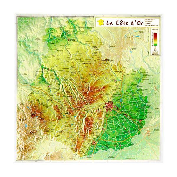 Europe (ang) 66 x 66cm