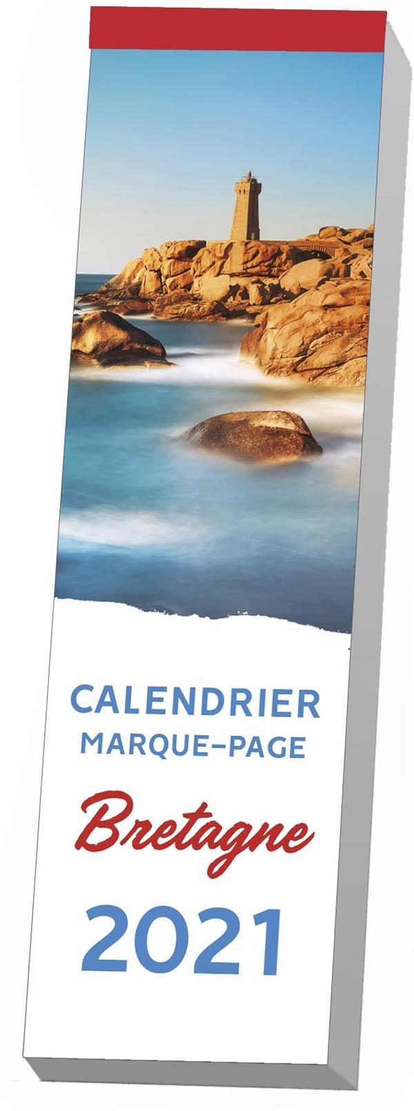 calendrier marque-page ; Bretagne (édition 2021)